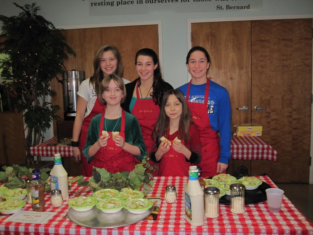 Parish Council Spaghetti Dinner 2015